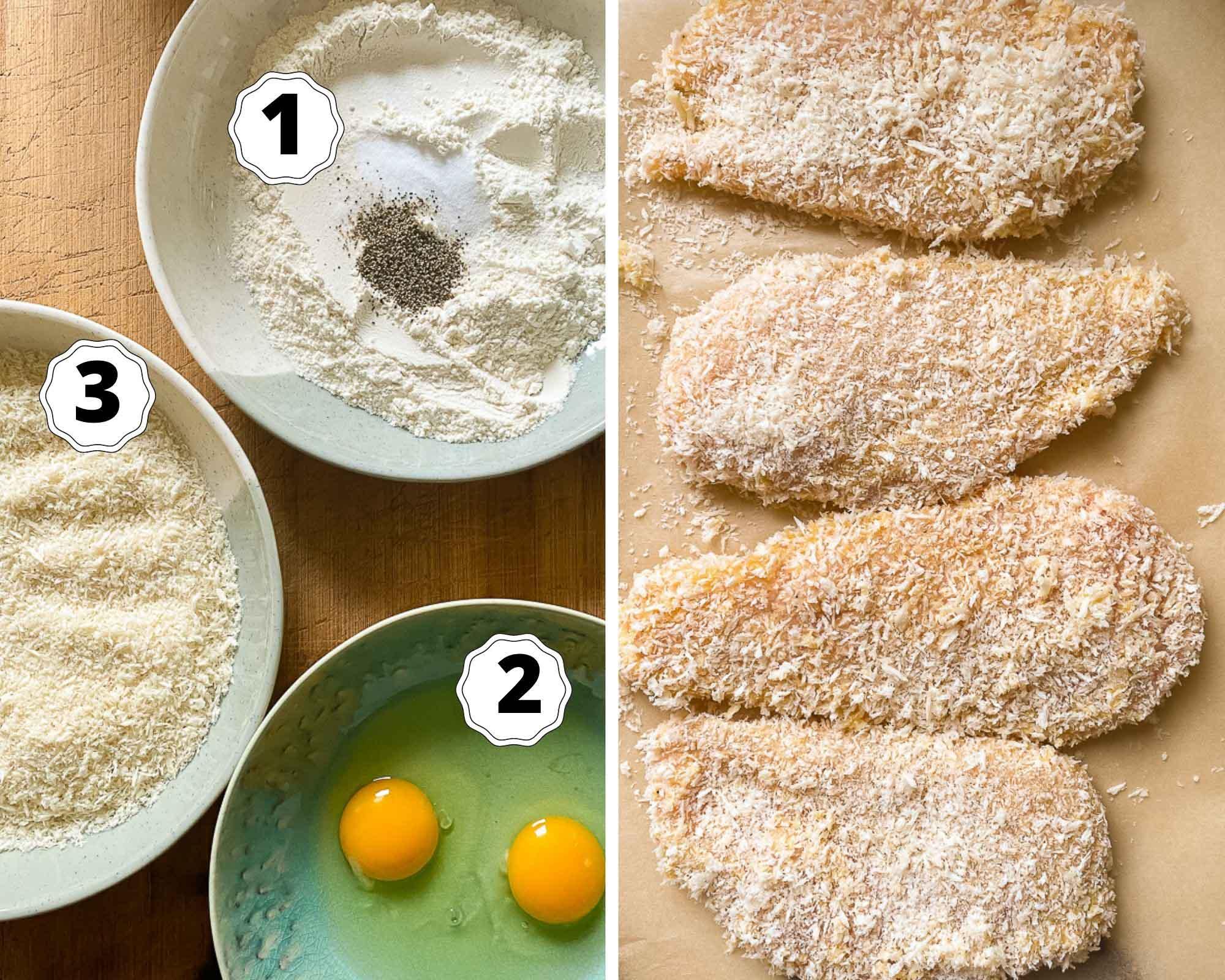 chicken katsu recipe process photos