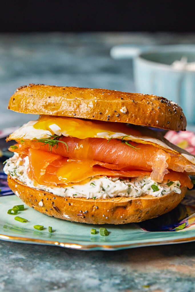 breakfast bagel