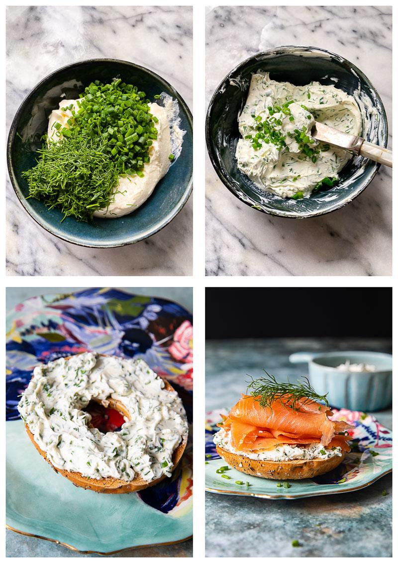 breakfast sandwich process images
