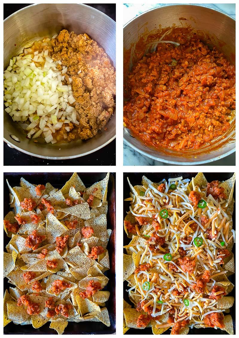 nachos supreme process images